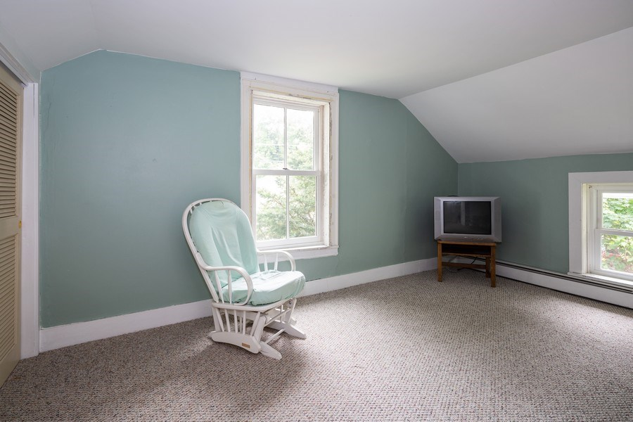 Real Estate Photography - 304 W. Calhoun, Woodstock, IL, 60098 - 2nd Floor Office 15'x 11'