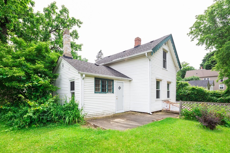 Real Estate Photography - 304 W. Calhoun, Woodstock, IL, 60098 - Rear Elevation