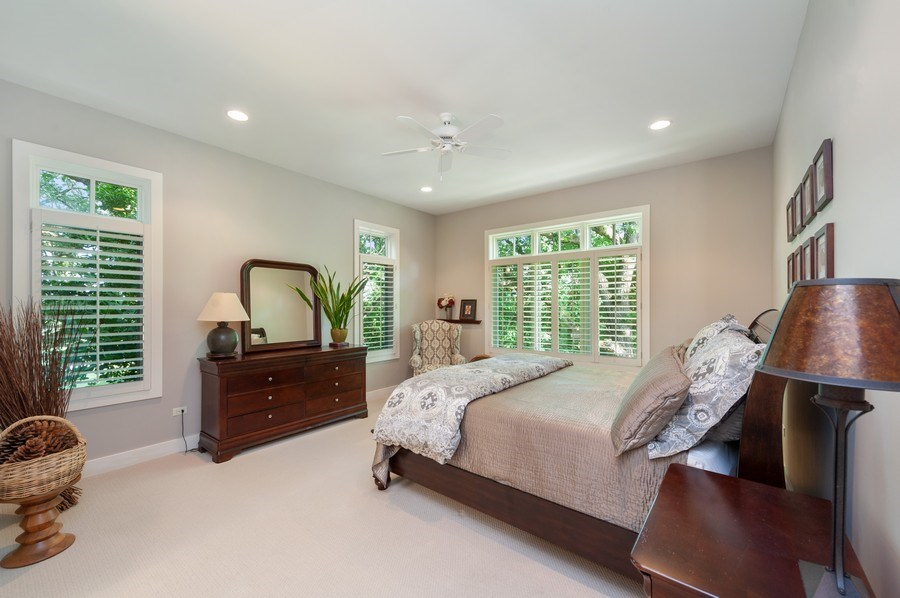 Real Estate Photography - 2605 Stacy Court, Woodstock, IL, 60098 - Master Bedroom