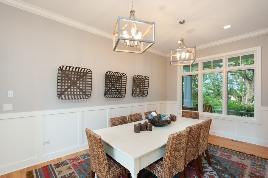 Real Estate Photography - 2605 Stacy Court, Woodstock, IL, 60098 - Dining Room