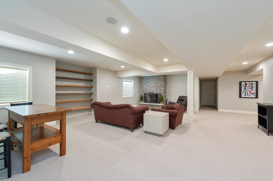 Real Estate Photography - 2605 Stacy Court, Woodstock, IL, 60098 - Basement