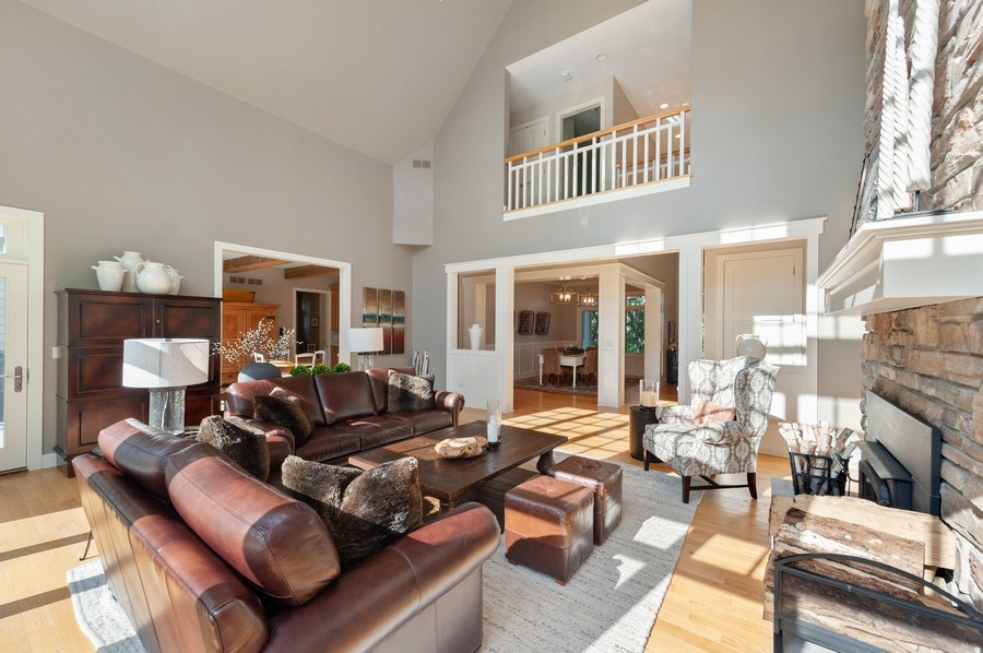 Real Estate Photography - 2605 Stacy Court, Woodstock, IL, 60098 - Family Room