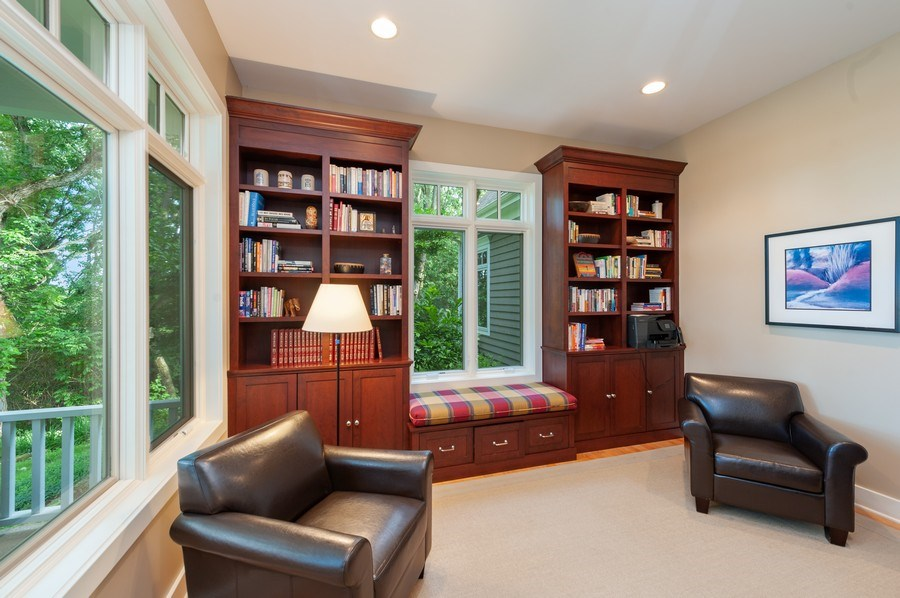 Real Estate Photography - 2605 Stacy Court, Woodstock, IL, 60098 - Study