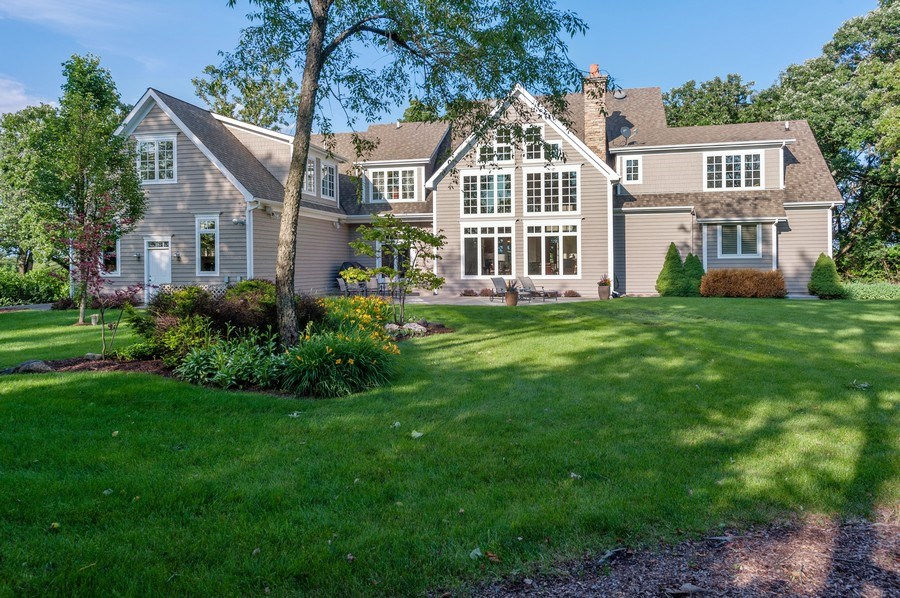 Real Estate Photography - 2605 Stacy Court, Woodstock, IL, 60098 - Rear View