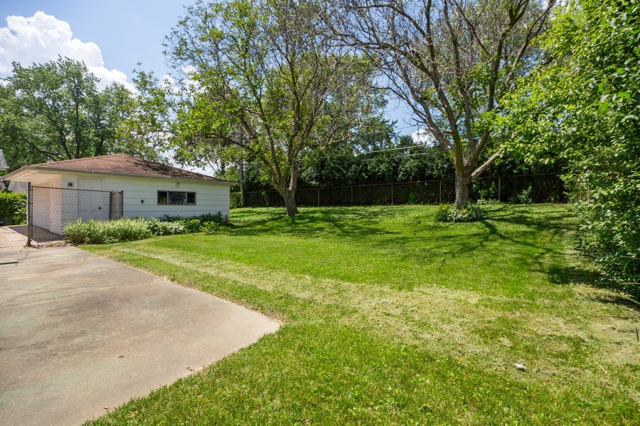 Real Estate Photography - 226 S. Princeton Ave., Arlington Hts, IL, 60005 - Back Yard