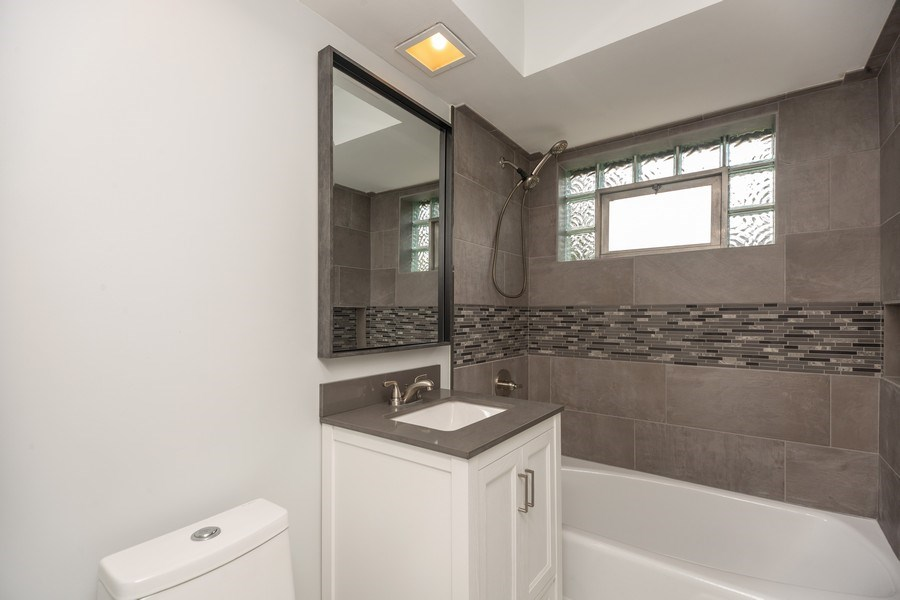 Real Estate Photography - 226 S. Princeton Ave., Arlington Hts, IL, 60005 - Bathroom