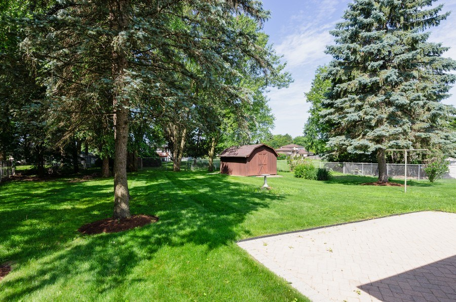 Real Estate Photography - 823 Forest, Bartlett, IL, 60103 - Back Yard