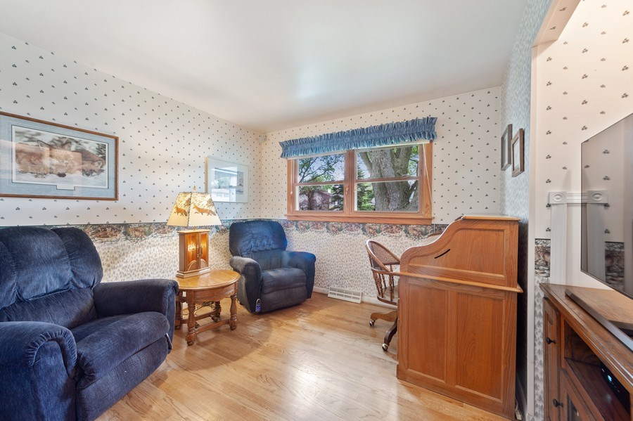 Real Estate Photography - 1425 S Robert Dr, Mount Prospect, IL, 60056 - 3rd Bedroom - currently being used as a TV room -