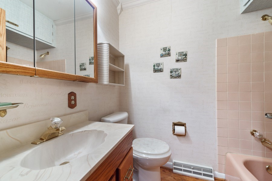 Real Estate Photography - 1425 S Robert Dr, Mount Prospect, IL, 60056 - 1st Floor Bath - 1425 S Robert Dr, Mount Prospect,