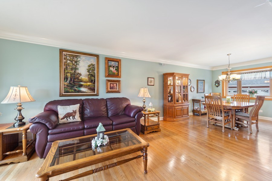 Real Estate Photography - 1425 S Robert Dr, Mount Prospect, IL, 60056 - Living Room/Dining Room - 1425 S Robert Dr, Mount