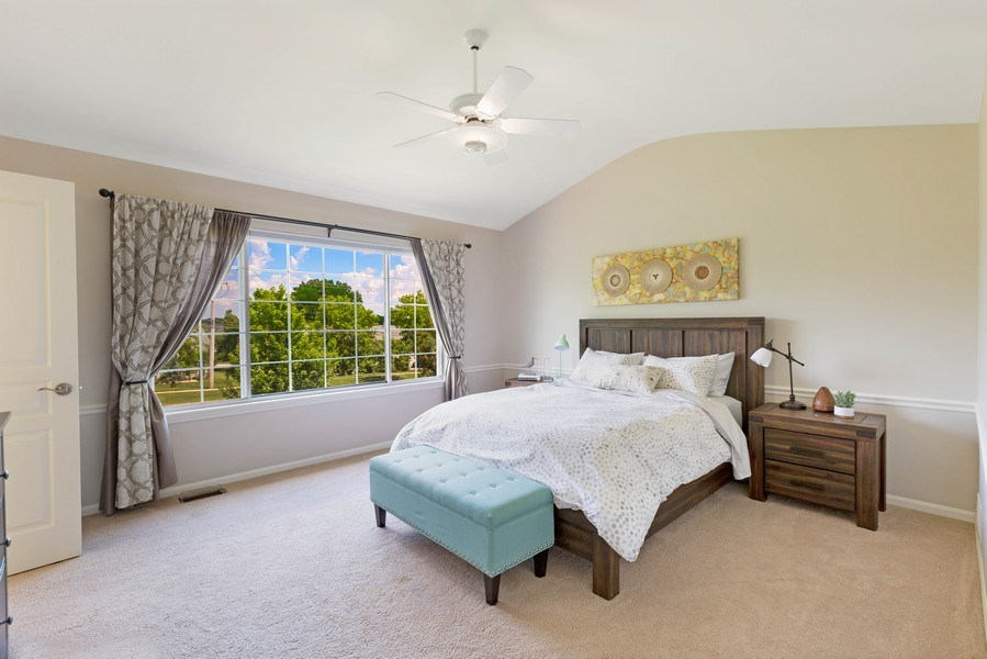 Real Estate Photography - 235 Farmhill Dr, Algonquin, IL, 60102 - SPACIOUS MASTER BEDROOM