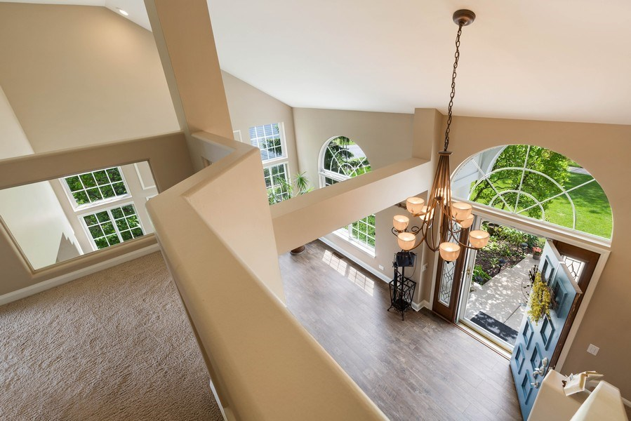 Real Estate Photography - 235 Farmhill Dr, Algonquin, IL, 60102 - VIEW FROM 2ND LEVEL