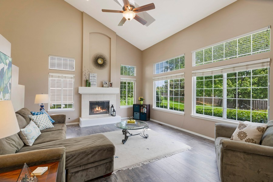 Real Estate Photography - 235 Farmhill Dr, Algonquin, IL, 60102 - FAMILY ROOM OFFERS GREAT VIEWS!