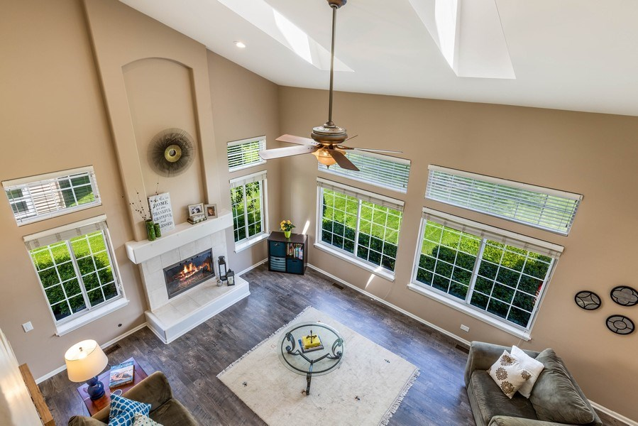 Real Estate Photography - 235 Farmhill Dr, Algonquin, IL, 60102 - VIEW FROM BACK STAIRCASE