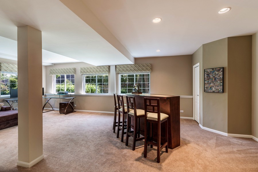 Real Estate Photography - 235 Farmhill Dr, Algonquin, IL, 60102 - ROOM FOR BAR OR POOL TABLE!