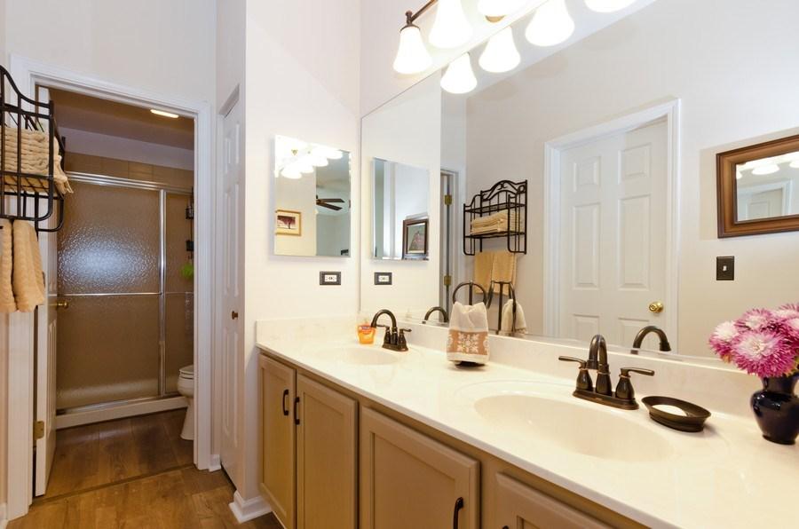 Real Estate Photography - 8323 Raptor Trail, Lakewood, IL, 60014 - Master Bathroom