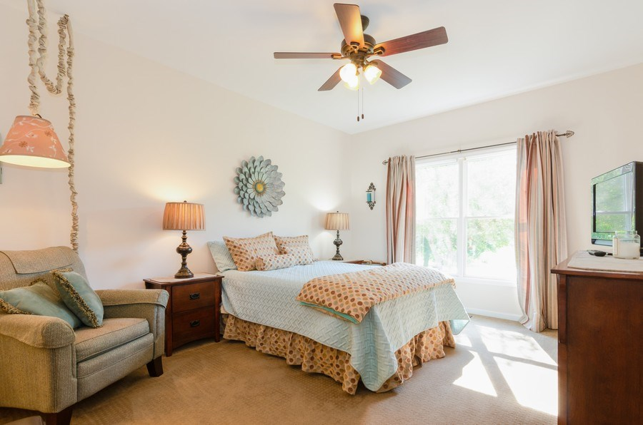 Real Estate Photography - 8323 Raptor Trail, Lakewood, IL, 60014 - Master Bedroom