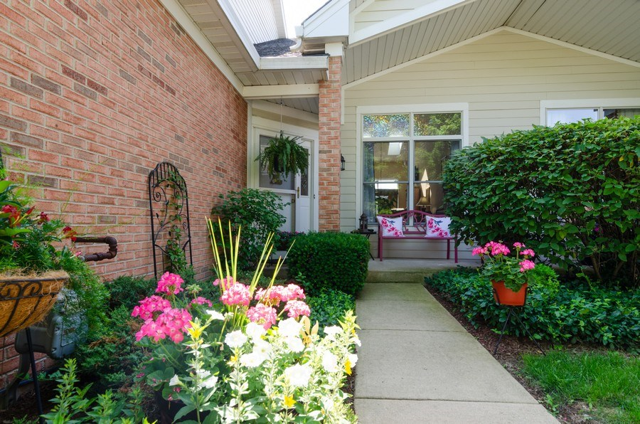 Real Estate Photography - 8323 Raptor Trail, Lakewood, IL, 60014 - Front View