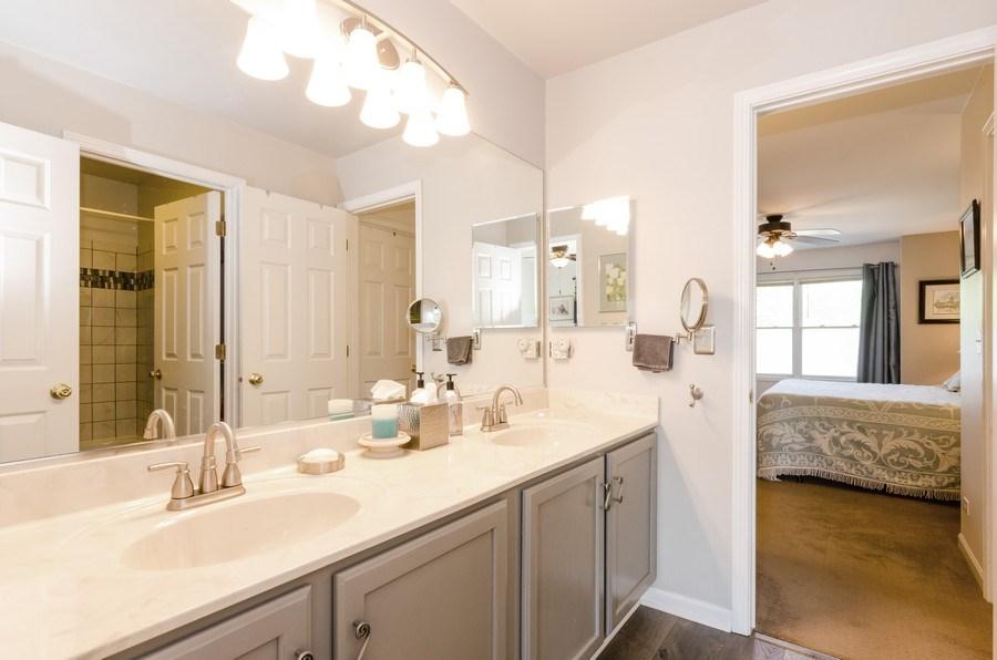 Real Estate Photography - 8323 Raptor Trail, Lakewood, IL, 60014 - Bathroom