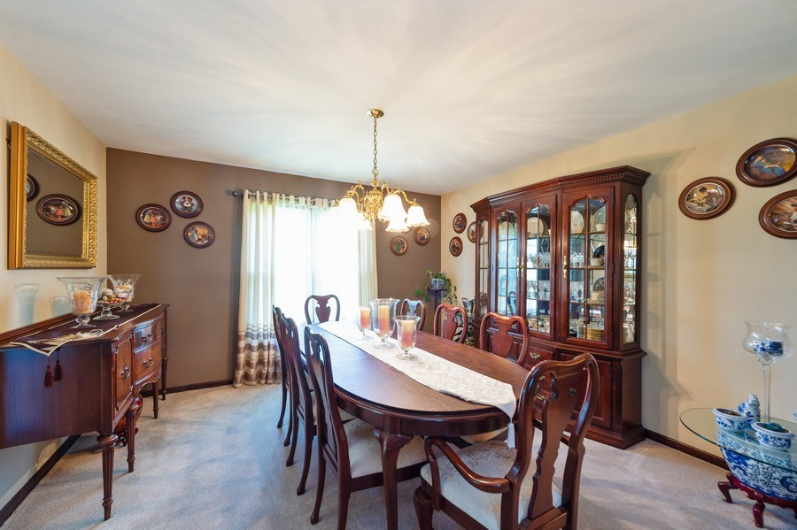 Real Estate Photography - 201 Independence Ln, Bloomingdale, IL, 60108 - Dining Room