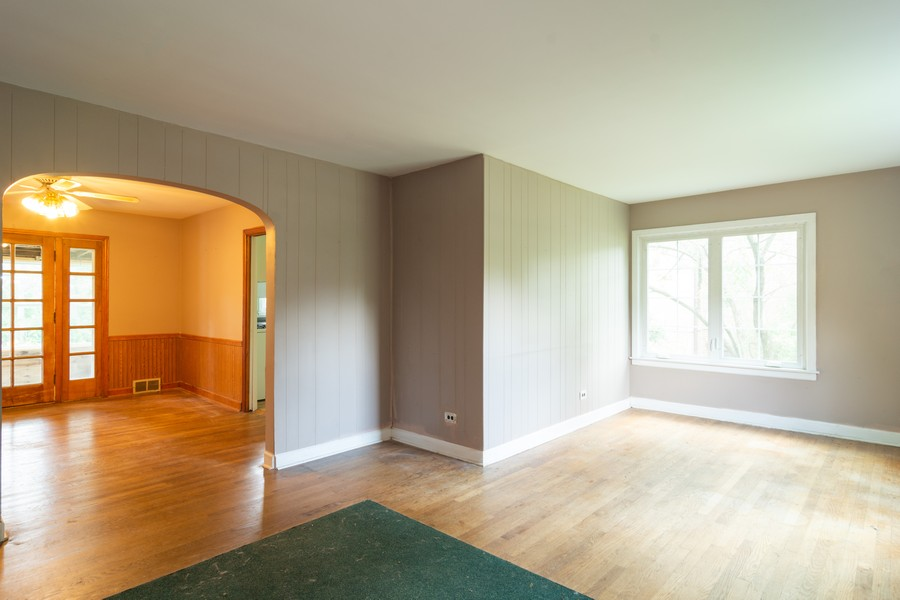 Real Estate Photography - 111 S. George St., Mt. Prospect, IL, 60056 - Living Room / Dining Room