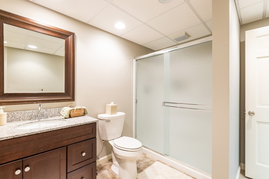 Real Estate Photography - 1033 Timothy Lane, Woodstock, IL, 60098 - 3rd Bathroom