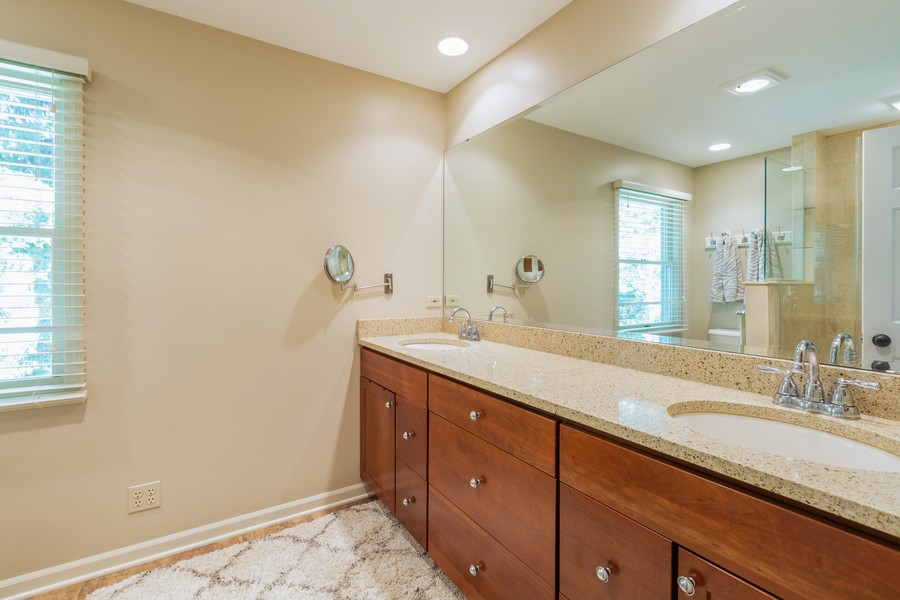 Real Estate Photography - 1033 Timothy Lane, Woodstock, IL, 60098 - Master Bathroom