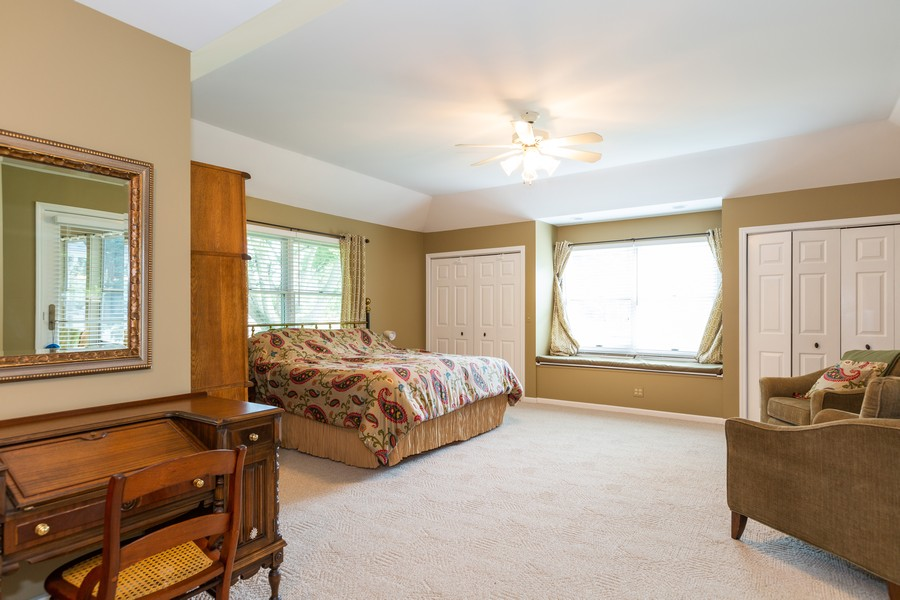 Real Estate Photography - 1033 Timothy Lane, Woodstock, IL, 60098 - Master Bedroom