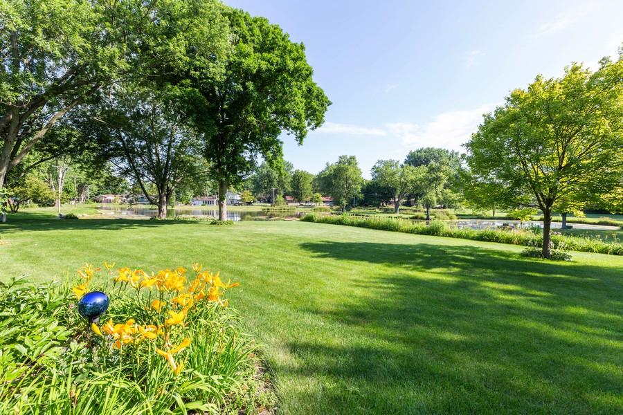 Real Estate Photography - 1033 Timothy Lane, Woodstock, IL, 60098 - Back Yard