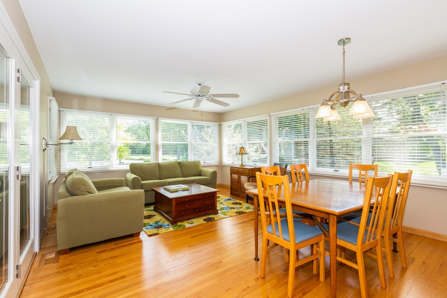 Real Estate Photography - 1033 Timothy Lane, Woodstock, IL, 60098 - Sun Room