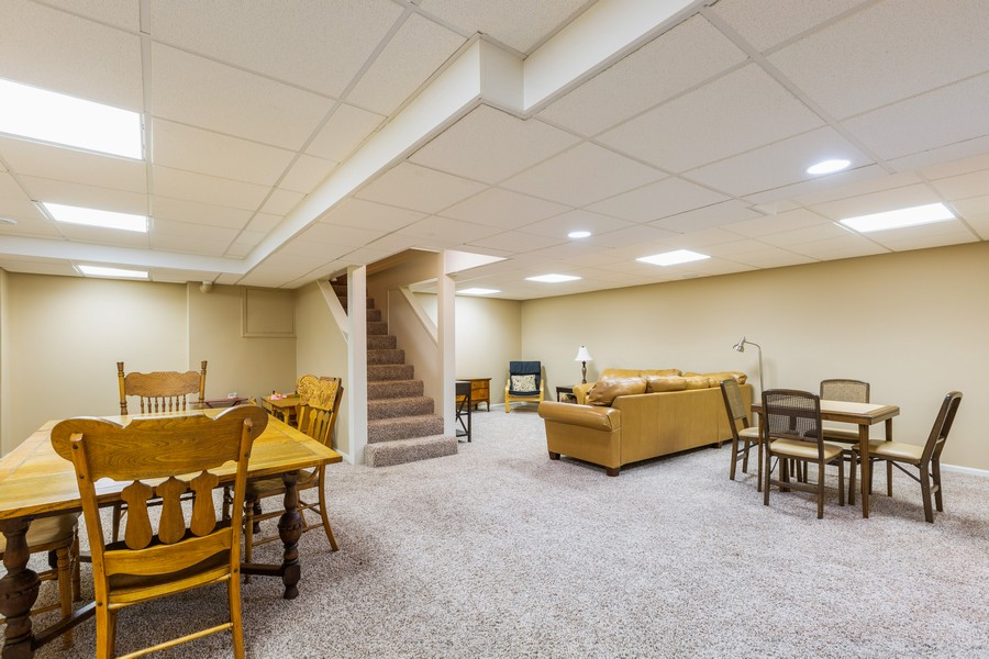 Real Estate Photography - 1033 Timothy Lane, Woodstock, IL, 60098 - Play / Recreational Room
