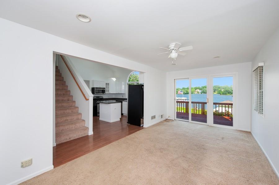 Real Estate Photography - 5102 W Lake Shore Dr, Wonder Lake, IL, 60097 - Living Room