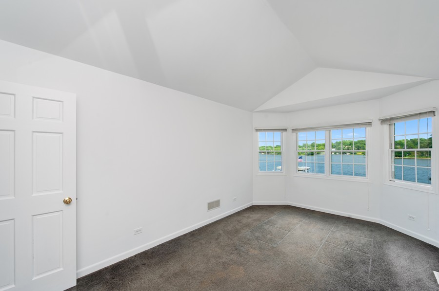 Real Estate Photography - 5102 W Lake Shore Dr, Wonder Lake, IL, 60097 - Master Bedroom