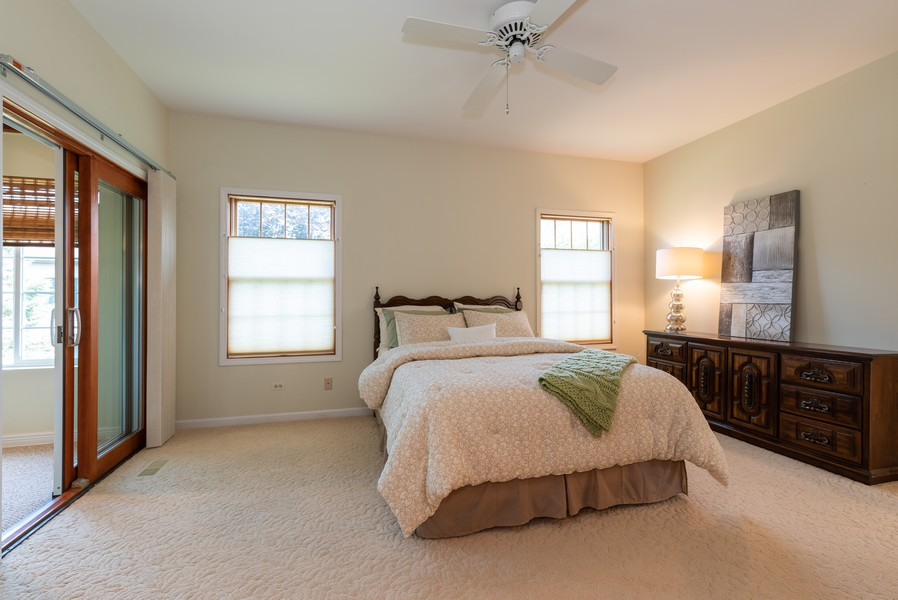 Real Estate Photography - 1344 Winslow Circle, Woodstock, IL, 60098 - Master Bedroom