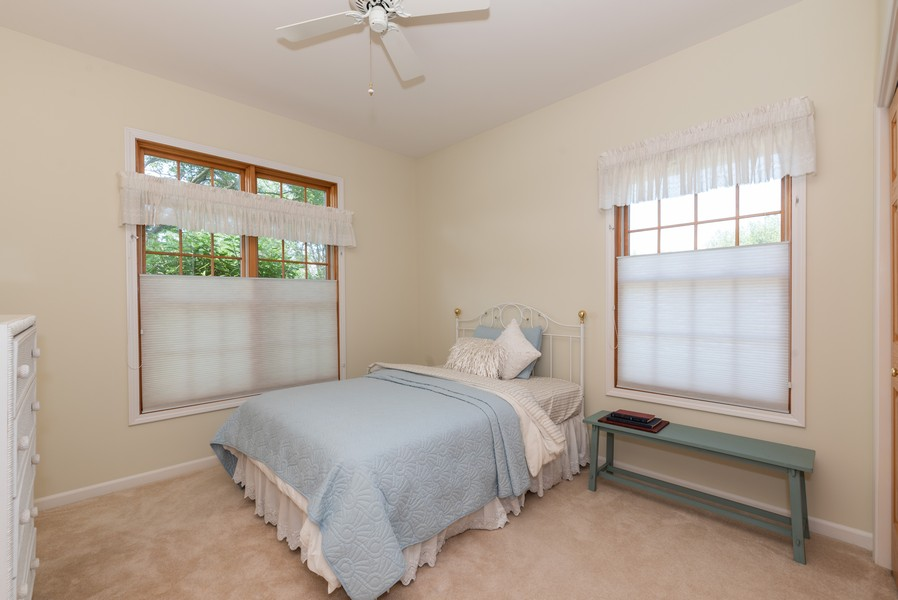Real Estate Photography - 1344 Winslow Circle, Woodstock, IL, 60098 - 3rd Bedroom