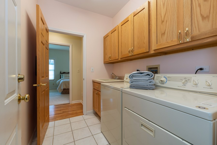 Real Estate Photography - 1344 Winslow Circle, Woodstock, IL, 60098 - Mudroom