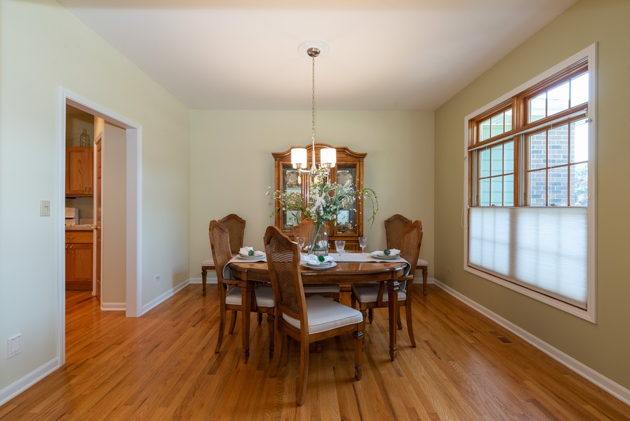 Real Estate Photography - 1344 Winslow Circle, Woodstock, IL, 60098 - Dining Room