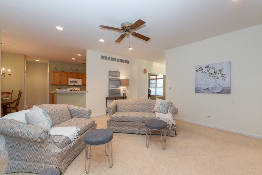 Real Estate Photography - 1344 Winslow Circle, Woodstock, IL, 60098 - Family Room