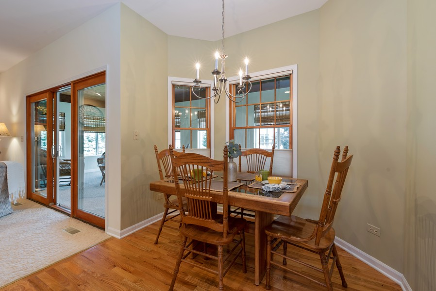 Real Estate Photography - 1344 Winslow Circle, Woodstock, IL, 60098 - Dining Area