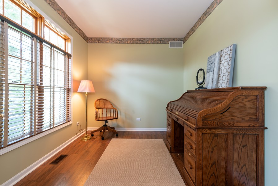 Real Estate Photography - 1344 Winslow Circle, Woodstock, IL, 60098 - Den