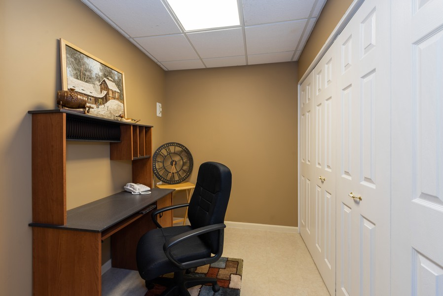 Real Estate Photography - 1344 Winslow Circle, Woodstock, IL, 60098 - Office