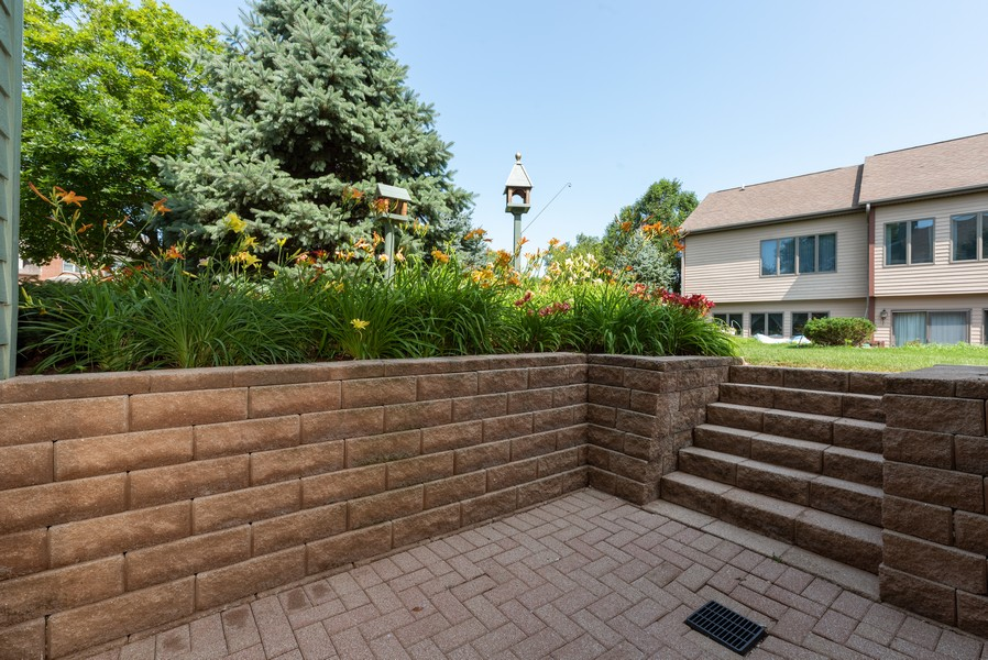 Real Estate Photography - 1344 Winslow Circle, Woodstock, IL, 60098 - Patio