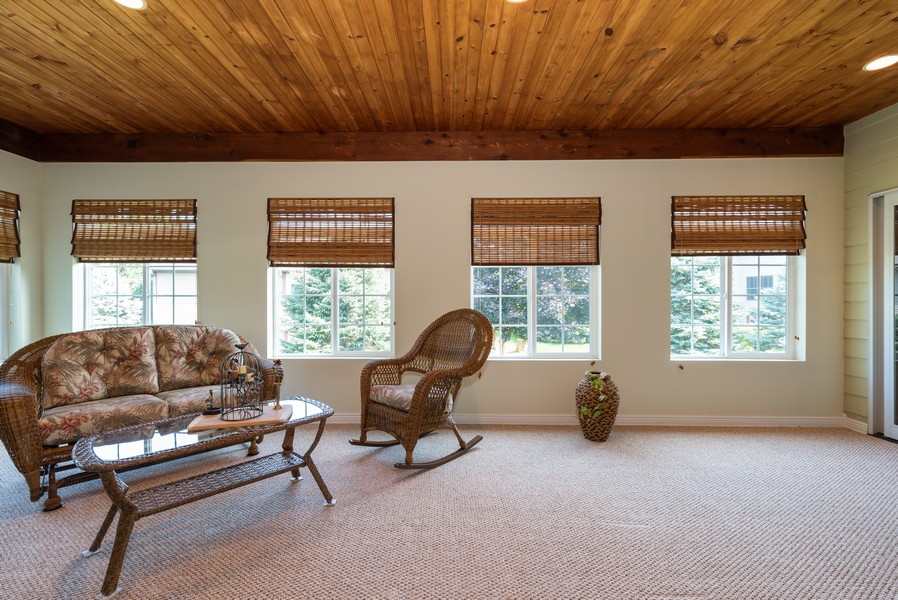 Real Estate Photography - 1344 Winslow Circle, Woodstock, IL, 60098 - Sun Room