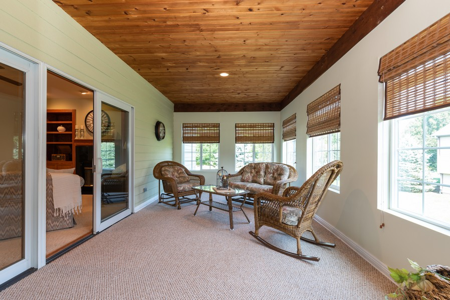 Real Estate Photography - 1344 Winslow Circle, Woodstock, IL, 60098 - Sunroom