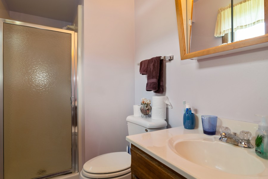 Real Estate Photography - 1610 Sheffield Dr, Elgin, IL, 60123 - Master Bathroom