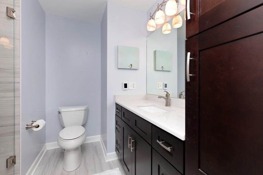 Real Estate Photography - 260 Beach Dr, Algonquin, IL, 60102 - Master Bathroom
