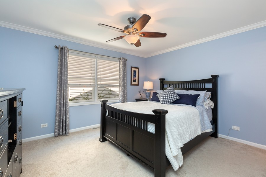 Real Estate Photography - 260 Beach Dr, Algonquin, IL, 60102 - Master Bedroom