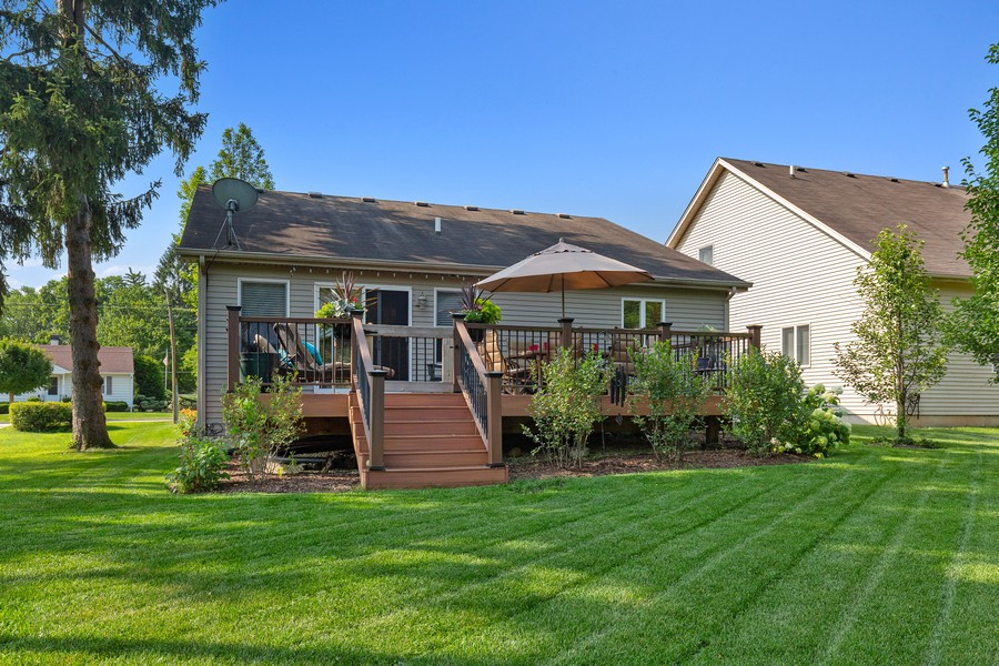 Real Estate Photography - 260 Beach Dr, Algonquin, IL, 60102 - Rear View