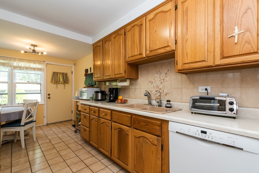 Real Estate Photography - 8209 Tripp Ave, Skokie, IL, 60076 - Kitchen
