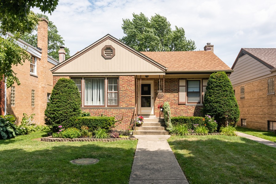 Real Estate Photography - 8209 Tripp Ave, Skokie, IL, 60076 - Front View